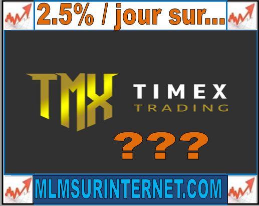 avis timex trading